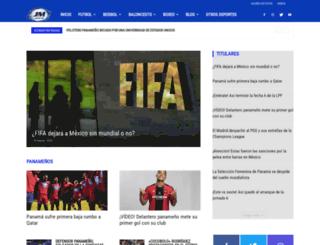 jmdeportes.com screenshot
