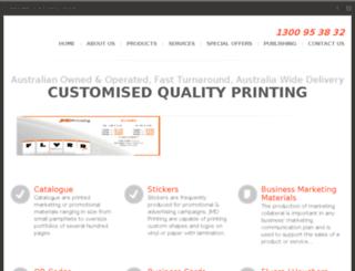 jmdprinting.com.au screenshot