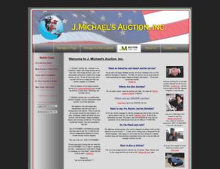 jmichaelsauction.com screenshot