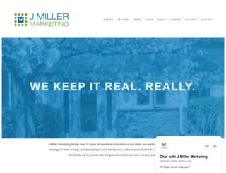 jmillermarketing.com screenshot