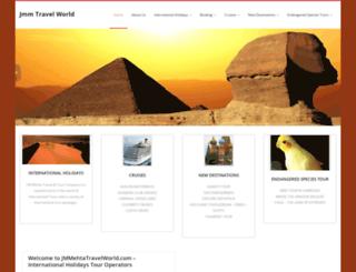 jmmtravelworld.com screenshot
