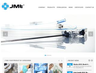 jmtmedical.com screenshot