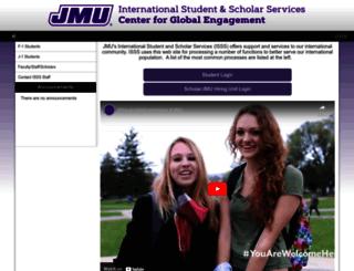 jmu-isss.terradotta.com screenshot