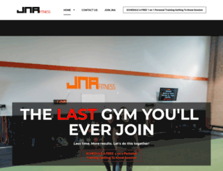 jna-fitness.com screenshot