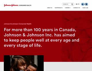 jnjcanada.com screenshot