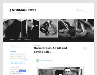 jnormanpost.com screenshot