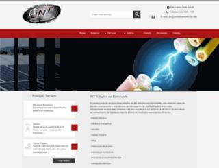 jntsolucoeseletricas.com screenshot