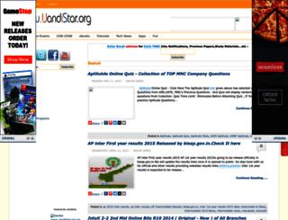 jntu.uandistar.org screenshot