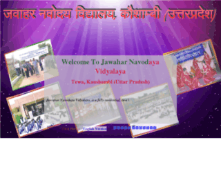jnvkaushambi.org screenshot