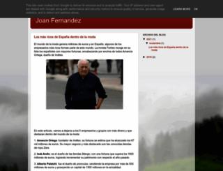 joanfernandez.es screenshot