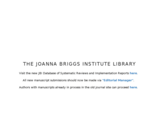 joannabriggslibrary.org screenshot