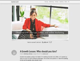 joannalord.com screenshot