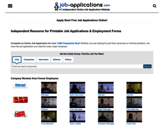 job-applications.com screenshot