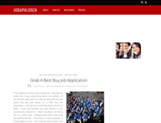 jobapalooza.net screenshot