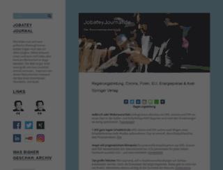 jobateyjournal.de screenshot