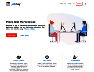 jobboy.com screenshot
