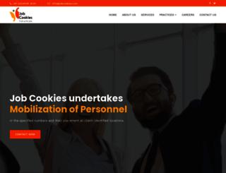 jobcookies.com screenshot