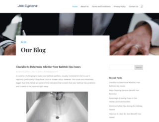 jobcyclone.com screenshot