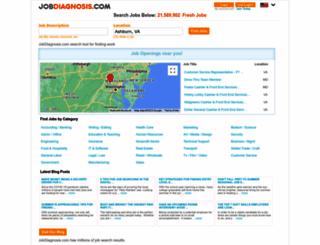 jobdiagnosis.com screenshot