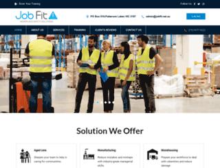 jobfit.net.au screenshot