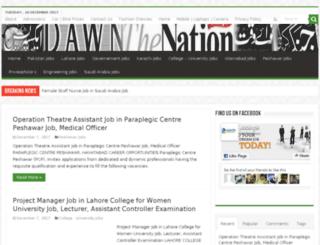 jobinpk.com screenshot