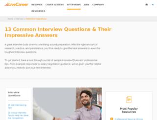 jobinterviewquestions.org screenshot