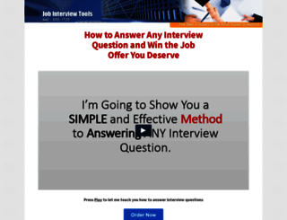 jobinterviewtools.com screenshot