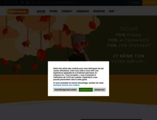 jobmania.fr screenshot