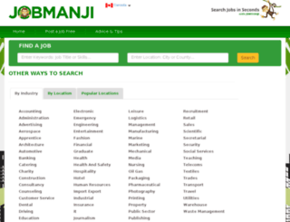 jobmanji.ca screenshot
