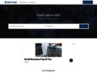 jobmanji.com screenshot