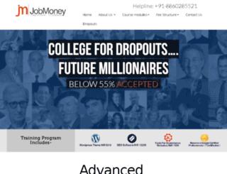 jobmoney.in screenshot