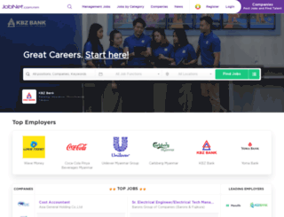 jobnet.com.mm screenshot