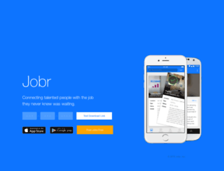 jobr.jobrapp.com screenshot
