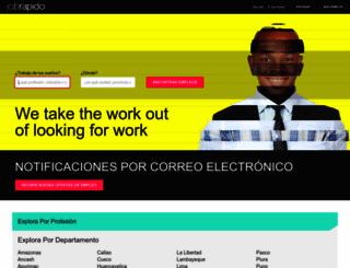jobrapido.com.pe screenshot