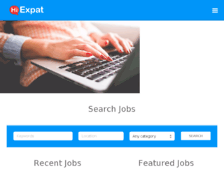 jobs-korea.net screenshot