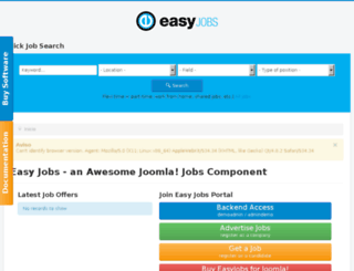 jobs-portal-demo.easyjoomla.org screenshot