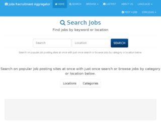 jobs.careerrocks.com screenshot
