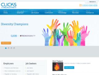 jobs.clicks.com.au screenshot
