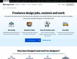 jobs.designcrowd.co.in screenshot