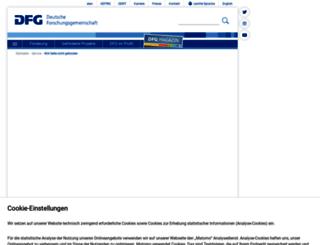 jobs.dfg.de screenshot
