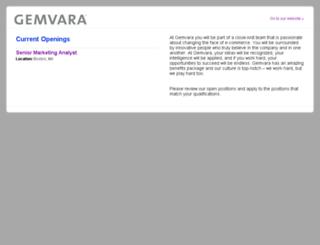 jobs.gemvara.com screenshot