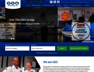 jobs.geogroup.com screenshot