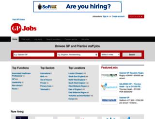 jobs.gponline.com screenshot