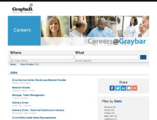 jobs.graybar.com screenshot