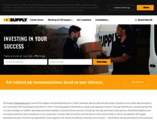 jobs.hdsupply.com screenshot