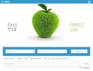 jobs.itegy.com screenshot