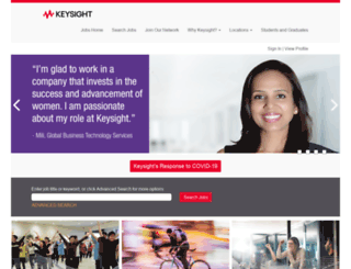 jobs.keysight.com screenshot