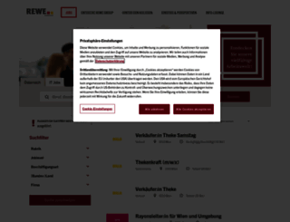 jobs.merkurmarkt.at screenshot