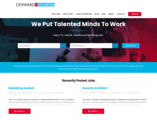 jobs.onwardsearch.com screenshot