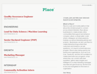 jobs.place.xyz screenshot